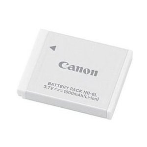 Canon NB-6L Li-Ion Battery Pack for Canon SD770IS, SD1200IS, & D