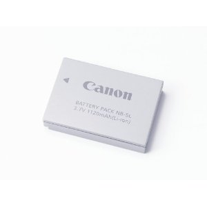 Canon NB-5L Battery Pack for Canon SD700IS, SD790IS, SD800IS, SD