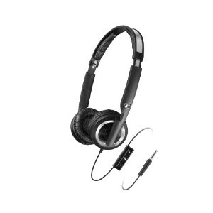 Sennheiser PX 200-II i Lightweight Supra-Aural Headphones with 3