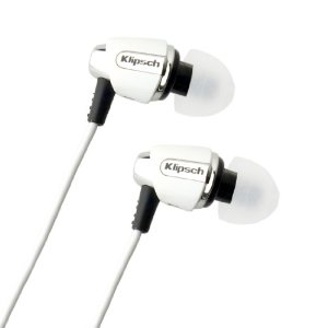 Klipsch IMAGE S4i-WH Premium Noise-Isolating Headset with 3-butt