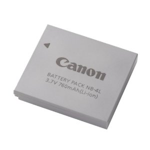 Canon NB-4L Li-Ion Battery for Canon SD1400IS, SD940IS, SD960IS