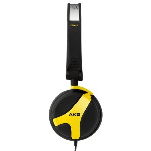 AKG K 518 LE Limited Edition Folding Headphones - Yellow