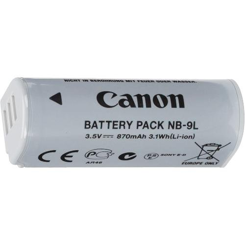 Canon NB-9L Battery Pack for Canon SD4500IS Digital Camera - Ret