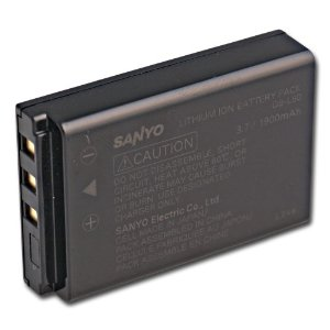 Sanyo DB-L50AU Lithium-Ion Battery for HD1000 Camcorder