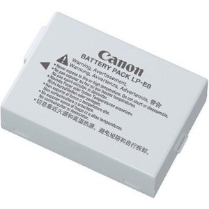 Canon LP-E8 Battery Pack for Canon Digital Rebel T2i Digital SLR