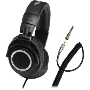 Audio-Technica ATH-M50 Studio Monitor Headphones