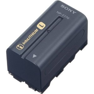 Sony NPF770 L Series InfoLithium Battery for DCRVX2100, HDRFX1,