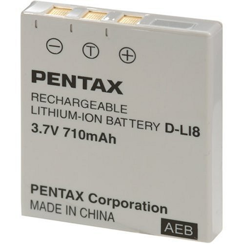 Pentax DL-I8 Battery for Optio S, S6, S4i, S5i, S5z, WPi & WP Di