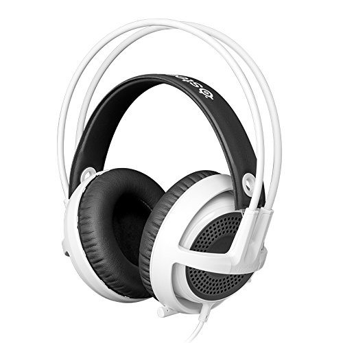 SteelSeries Siberia v3 comfortabel Gaming Headset - wit