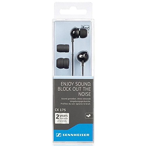Sennheiser Cx 175 Street Line Headphones (Black)