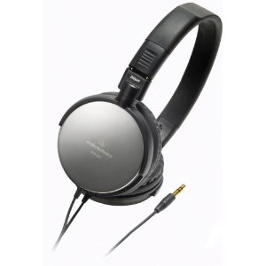 Audio-Technica ATH-ES7 Portable Headphones, Black