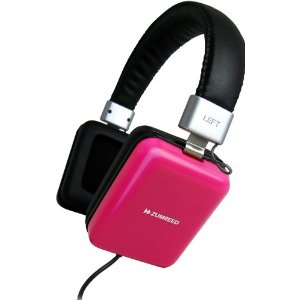 Zumreed / Square Headphones, Pink