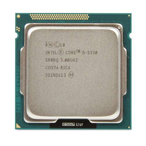 Intel Core i5-3330 Quad-Core Processor 3.0 Ghz 6 MB Cache LGA 11