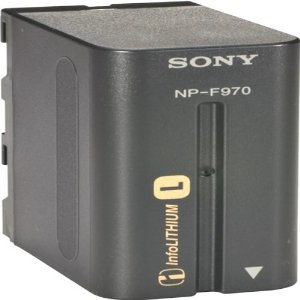 Sony NPF970 L Series Camcorder Battery for the DCRVX2100, HDRFX1
