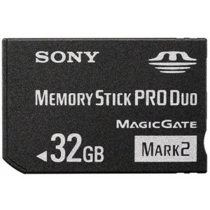 Sony 32 GB Memory Stick PRO Duo Media MSMT32G