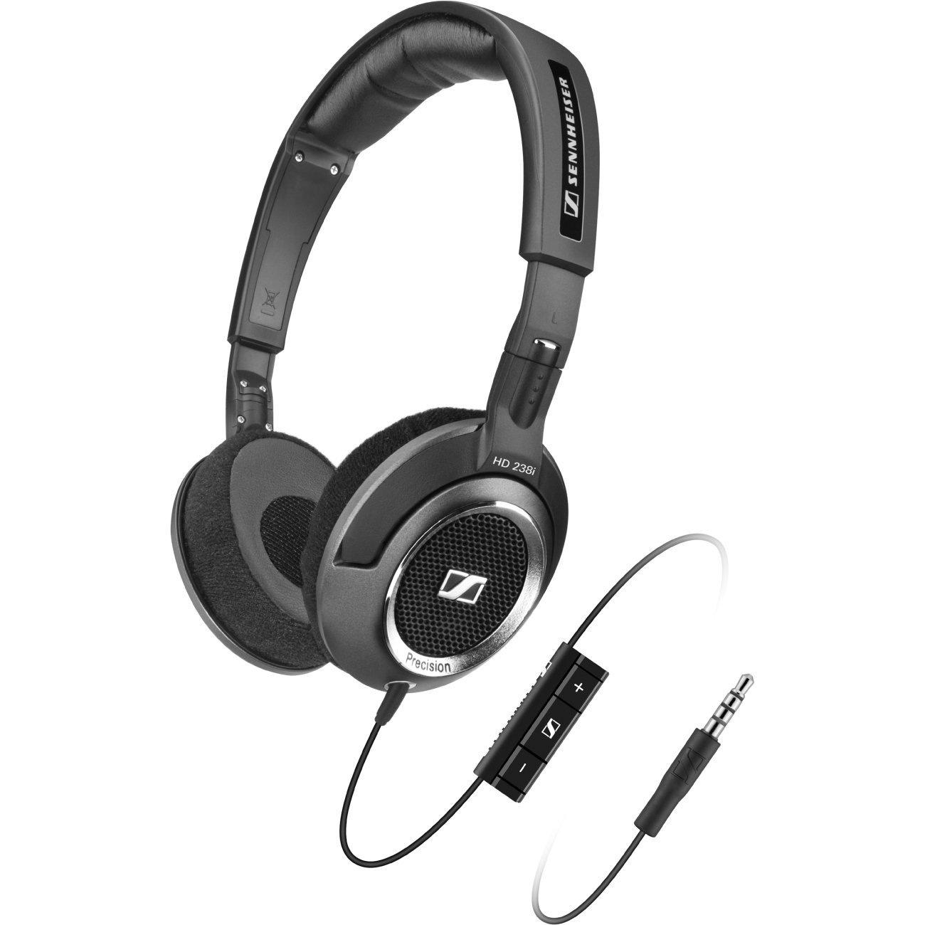 Sennheiser HD 238i Mid-Sized Headset with Detailed Sound Reprodu