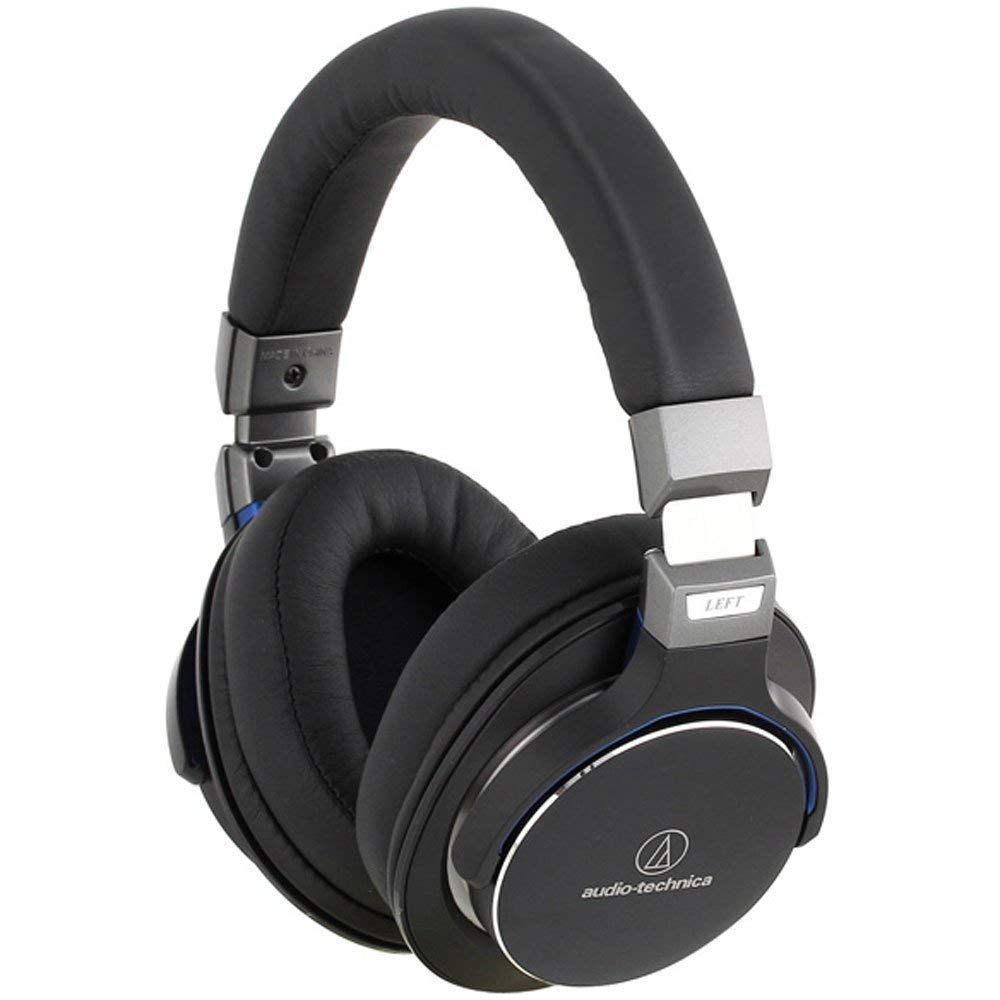 Audio-Technica ATH-MSR7BK SonicPro Over-Ear High-Resolution Audi