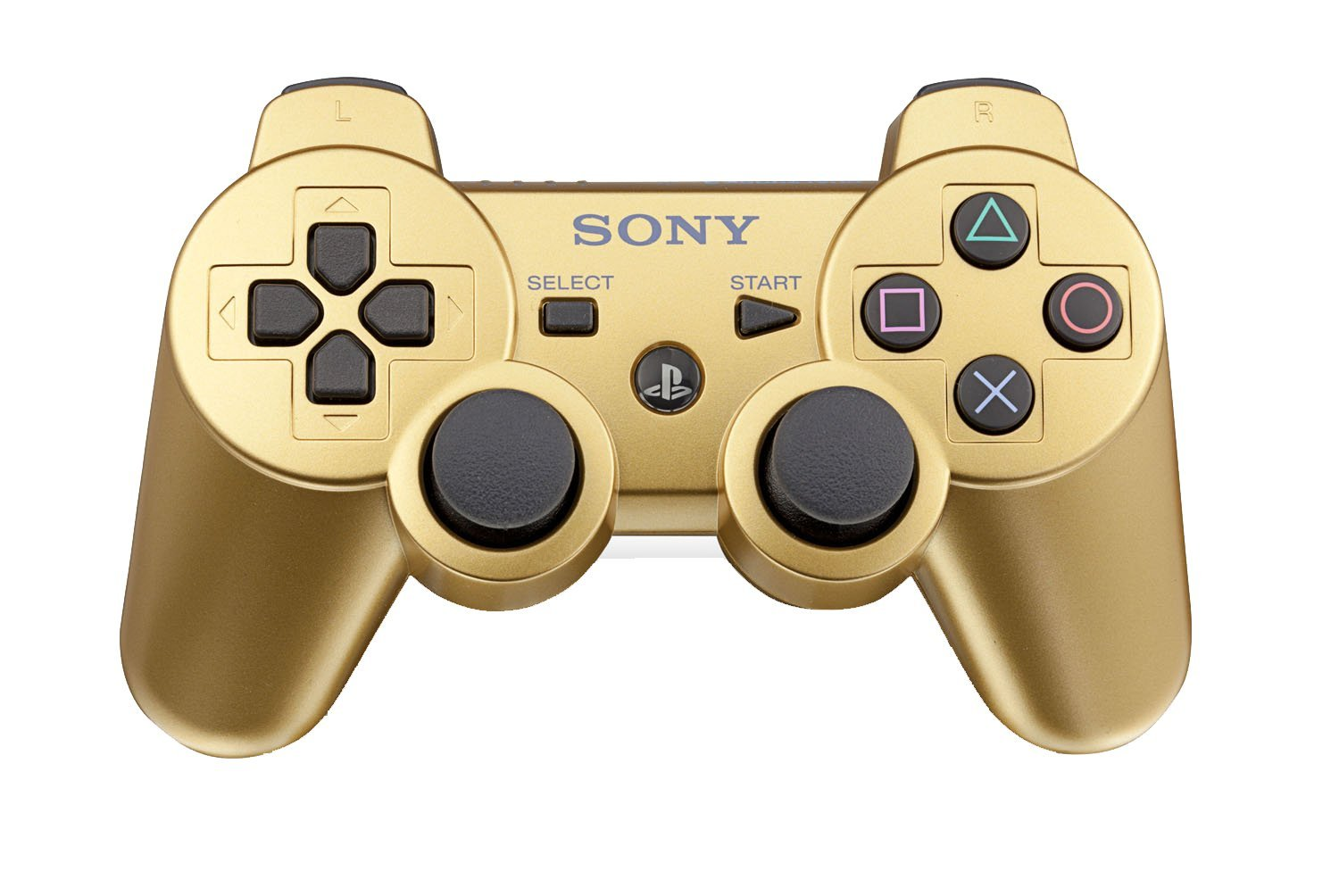 PlayStation 3 Dualshock 3 Wireless Controller (Metallic Gold)