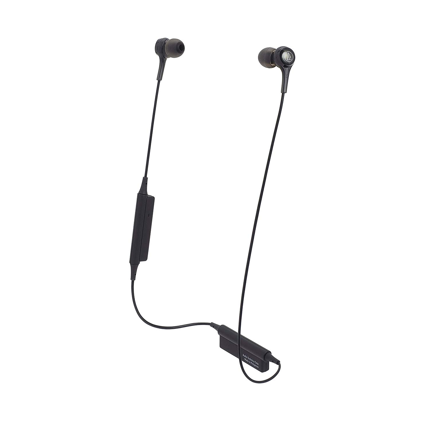 Audio-Technica ATH-CK200BTBK Bluetooth Wireless In-Ear Headphone