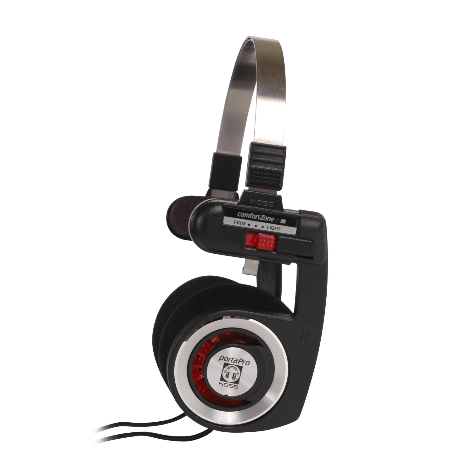 Koss Porta Pro On-Ear Stereo Headphones - Red Hot