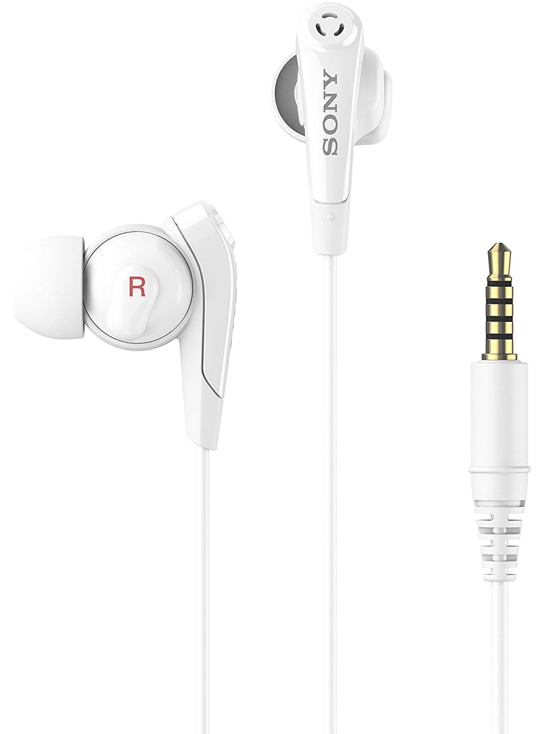 Sony MDR-NC750WH In-Ear Headphones with Built-in Microphone