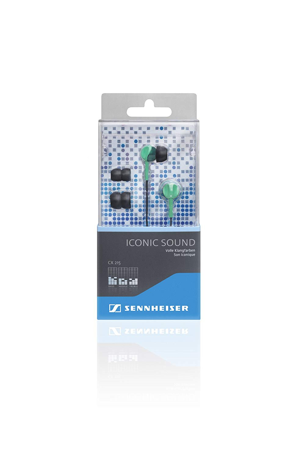 Sennheiser CX 215 Earphones - Green