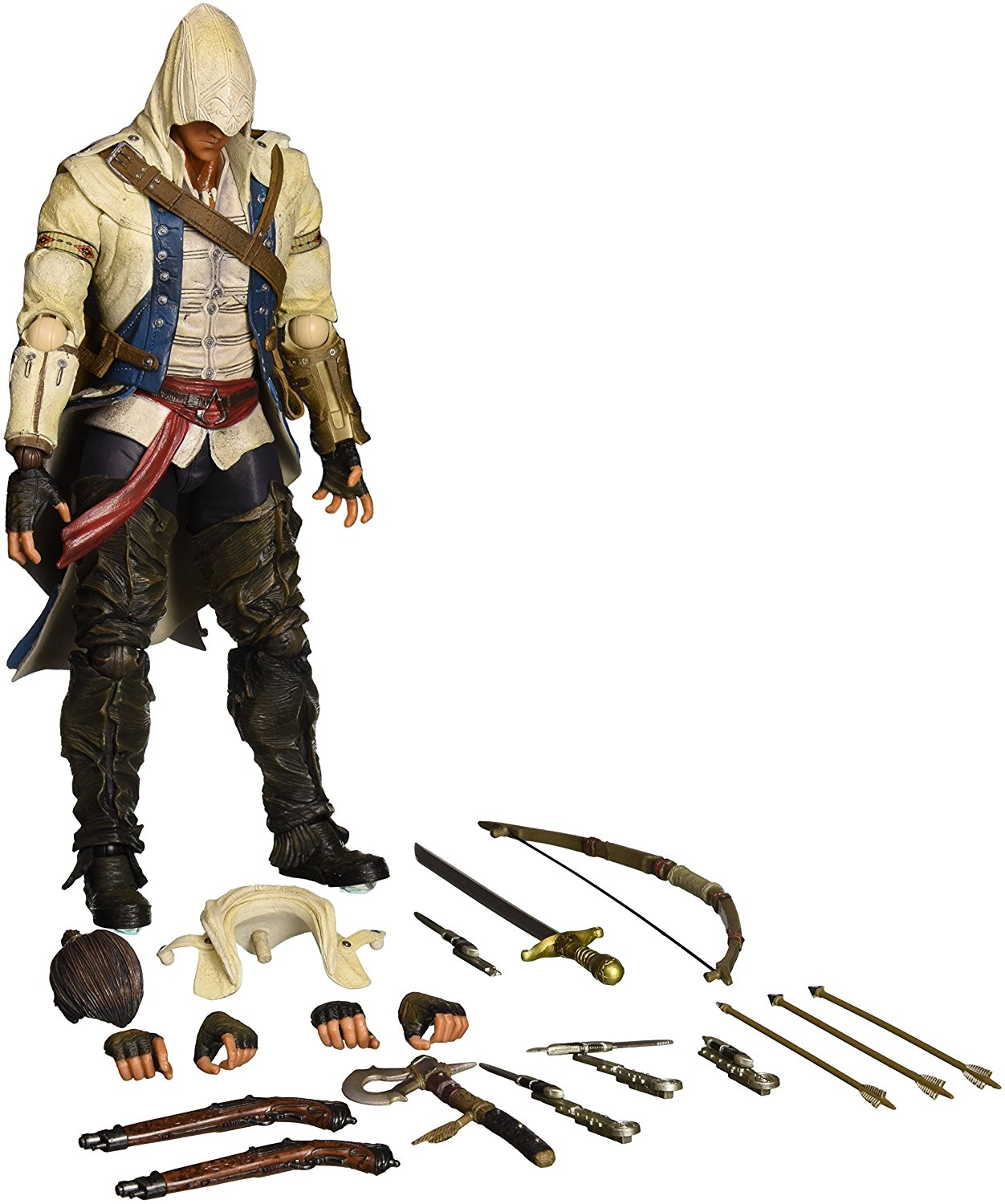 Assassins Creed III Play Arts Kai Connor Action Figure
