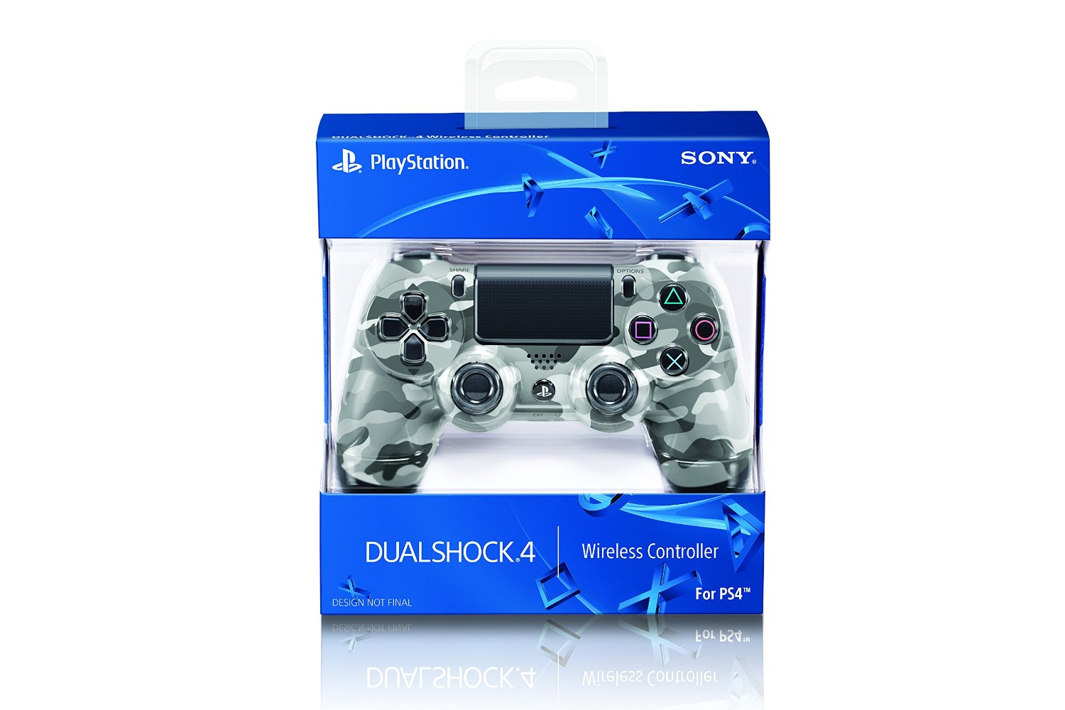 DualShock 4 Wireless Controller for PlayStation 4 - Urban Camouf