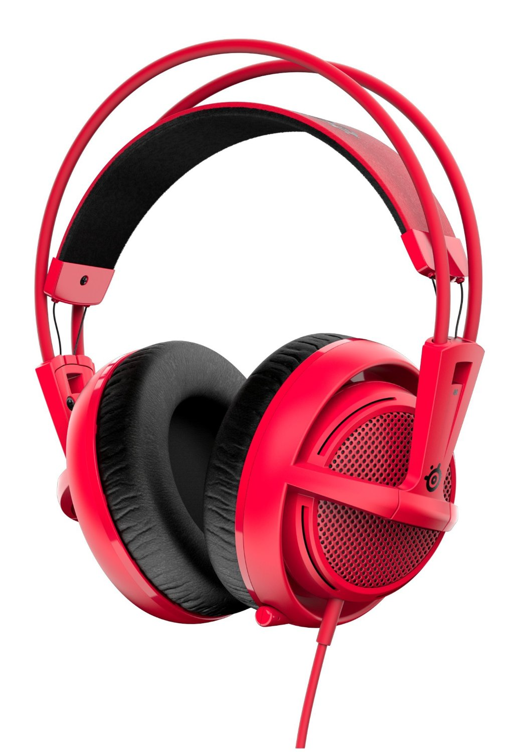 SteelSeries Siberia 200 Gaming Headset - faux rouge