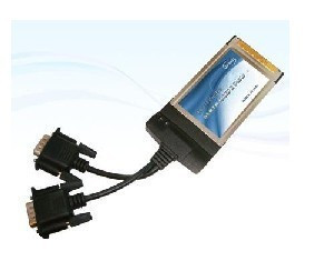 2-Port 16950 ExpressCard Serial Adapter Card
