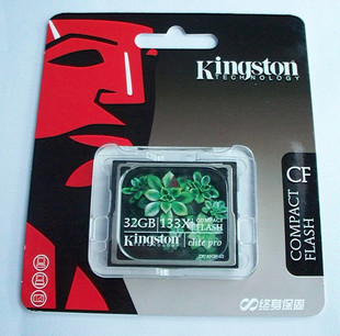 Kingston Elite Pro 32GB CompactFlash (CF) Card - 133x - CF/32GB-