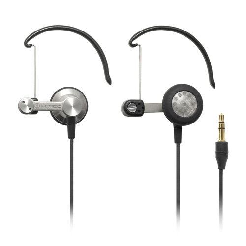 Audio-Technica ATH-EC700Ti ear-bud/clip-on hybrid headphones