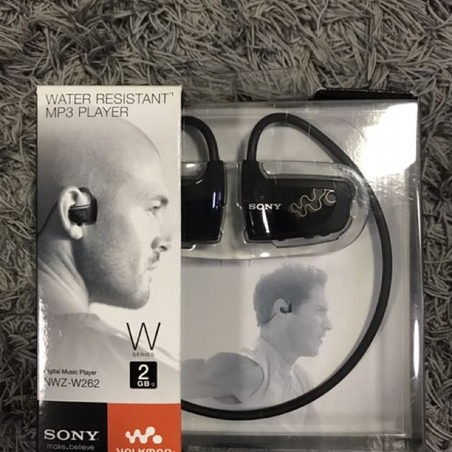 Sony NWZW262BLK Walkman MP3 player